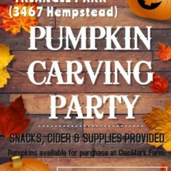 Pumpkin Carving Party – Saturday, October 21st, 2017